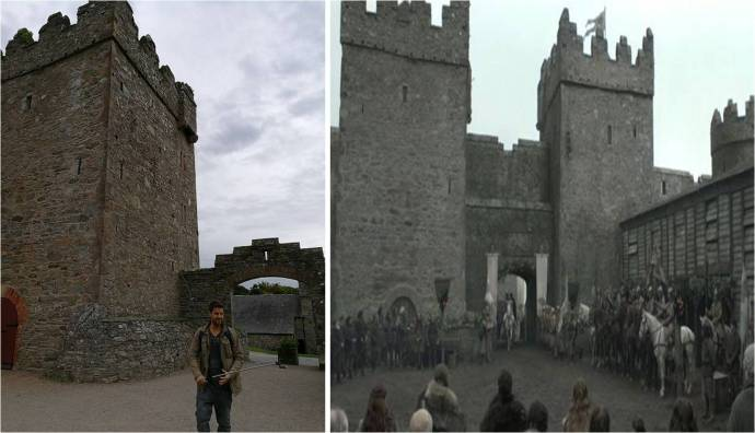 Winterfell---Roberts-arrival